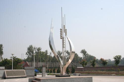 科技学校景观雕塑设计